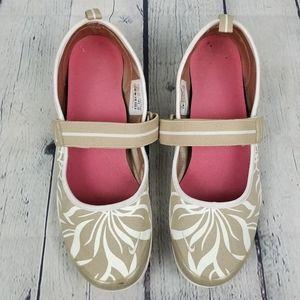 NIKE | maryjane slip-on patterned casual sneakers